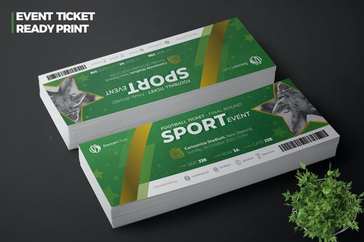 Thumbnail for Sport Event Ticket