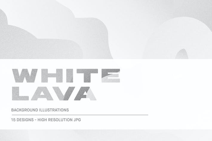 Thumbnail for White Lava - Background Textures