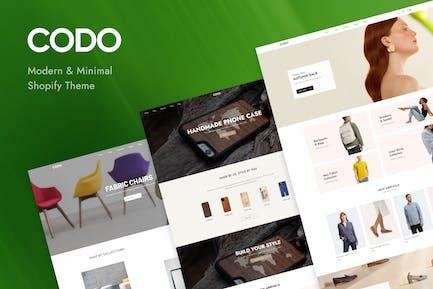 Codo - Modern & Minimal Shopify Theme