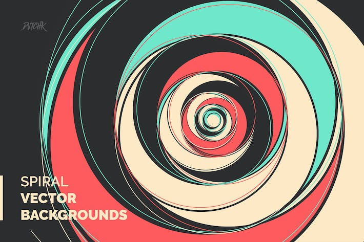 Thumbnail for Spiral | Vector Focus Backgrounds