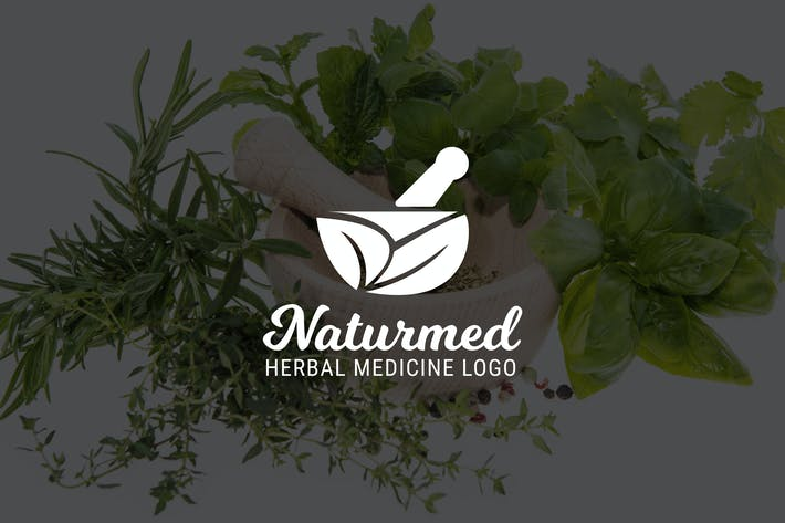 Thumbnail for Naturmed : Herbal Medicine or Pharmacy Logo