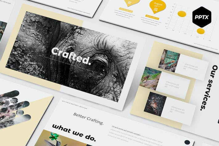Thumbnail for Crafted - Powerpoint Template