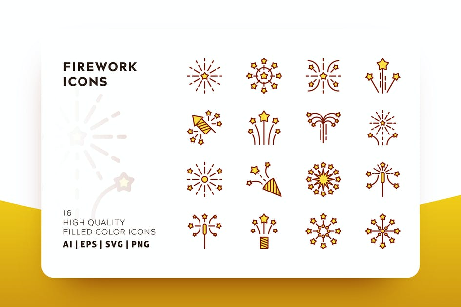 Download FIREWORK FILLED COLOR by subqistd