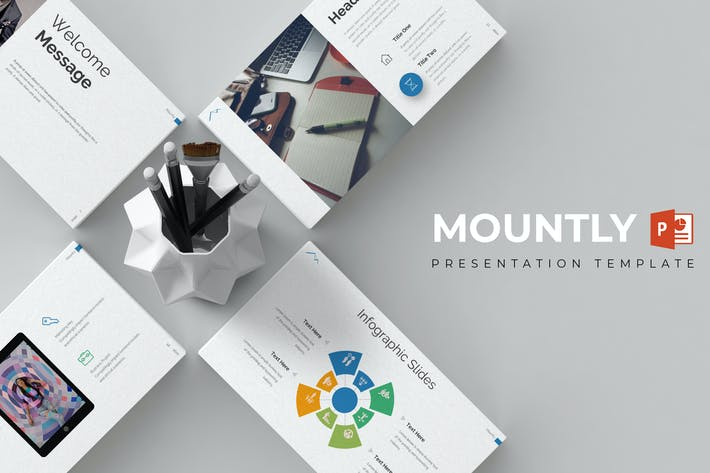 Thumbnail for Mountly - Powerpoint Template