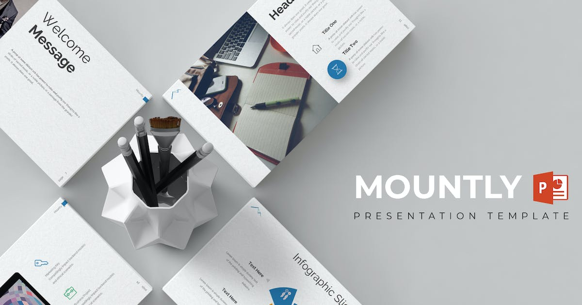 Download Mountly - Powerpoint Template by inspirasign
