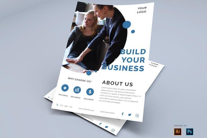 Thumbnail for Sauberes und professionelles Geschäft - Poster