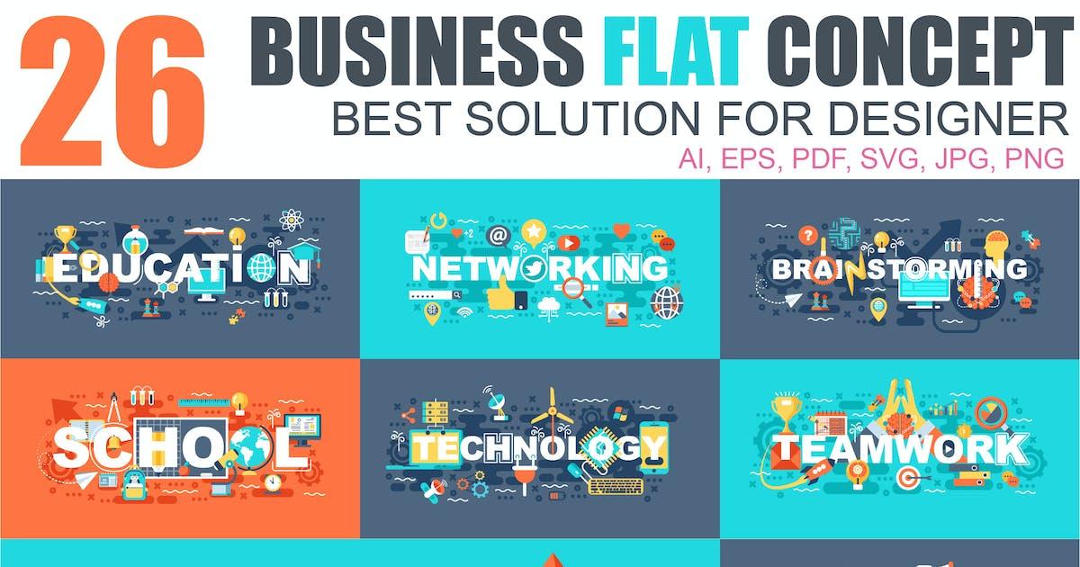 Download Flat Design Concept by alexdndz