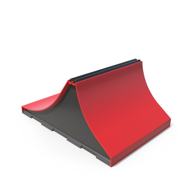 SkateBoard Rampen rot