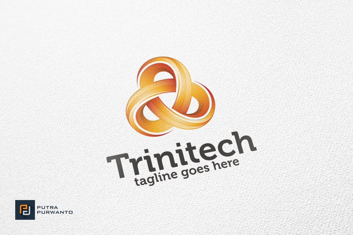 Thumbnail for Trinitech - Logo Template