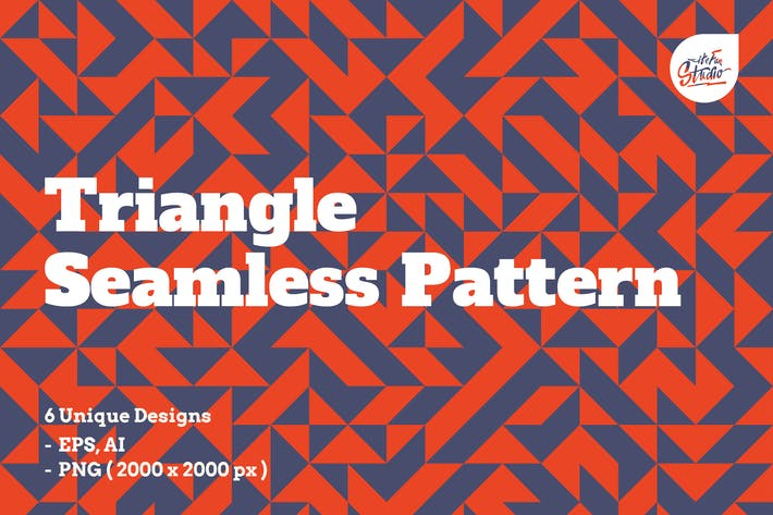 Thumbnail for Triangle Seamless Patterns