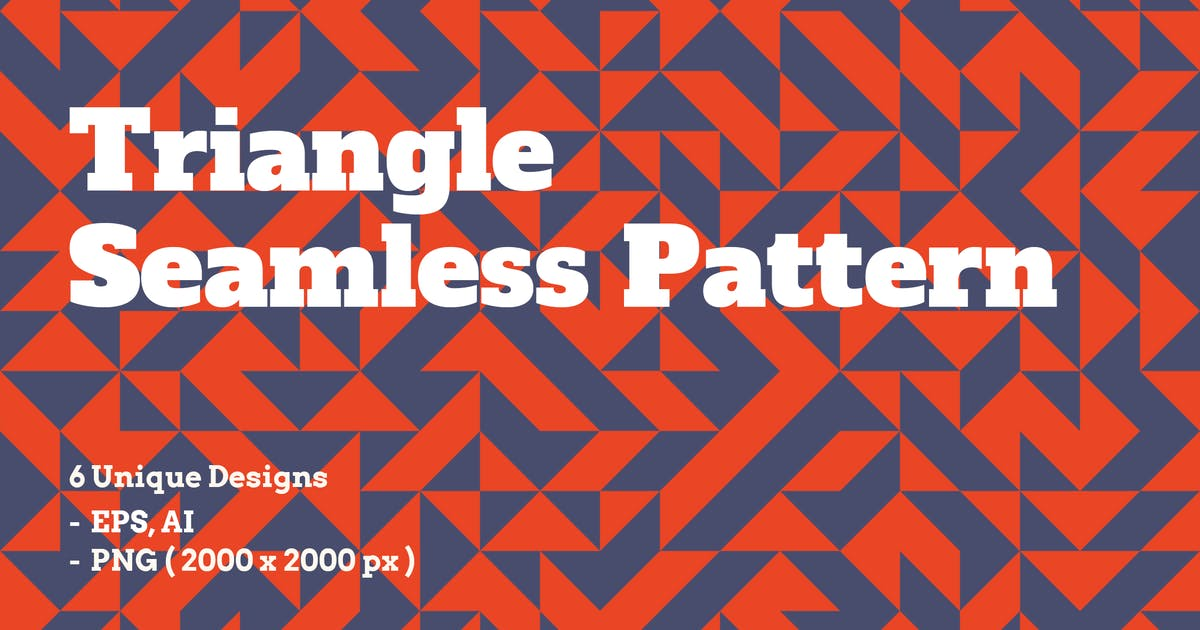 Download Triangle Seamless Patterns by itefan