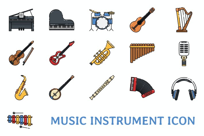 Thumbnail for Music Instrument Icon