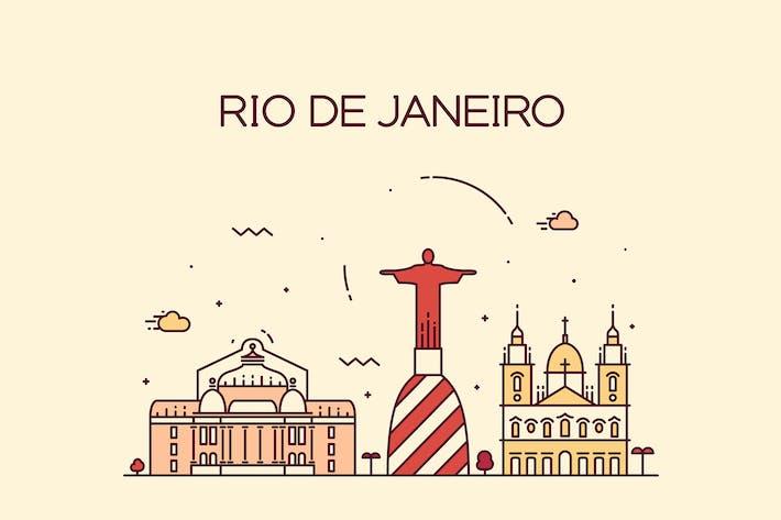 Thumbnail for Rio de Janeiro skyline, Brazil