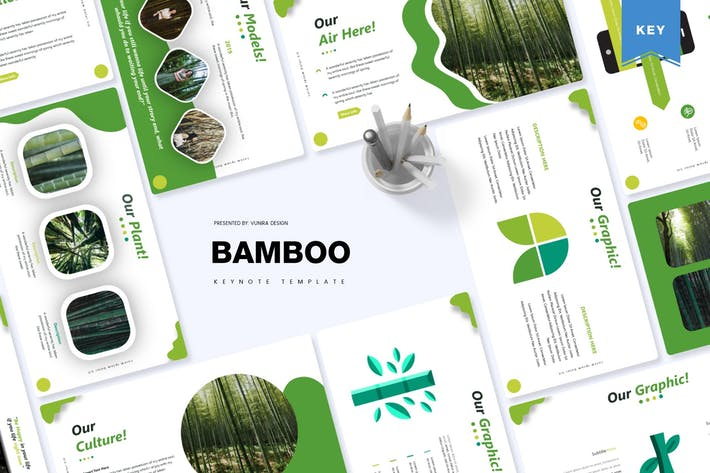 Thumbnail for Bamboo | Keynote Template