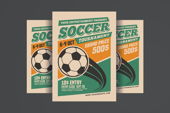 Thumbnail for Soccer Tournament Flyer