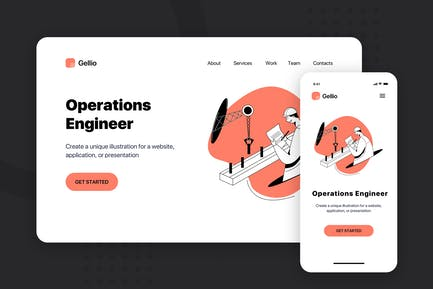 Operations Engineer - Banner & Landing Page