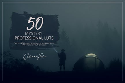 50 Mystery LUTs Pack
