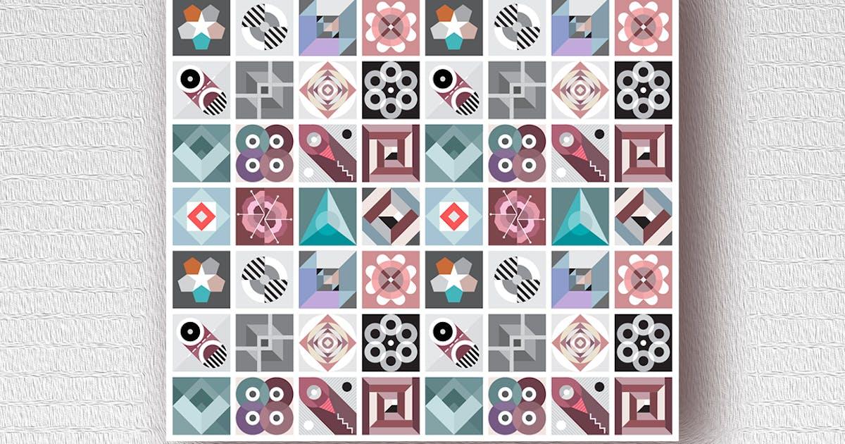 Download Decorative Geometric Patterns vector art design by danjazzia