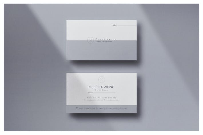 Thumbnail for Minimal Business Card - Vol.22