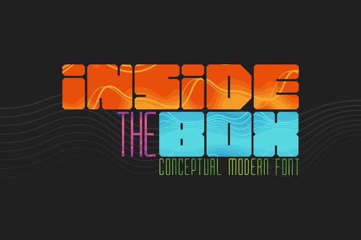 Thumbnail for Inside the BOX Font