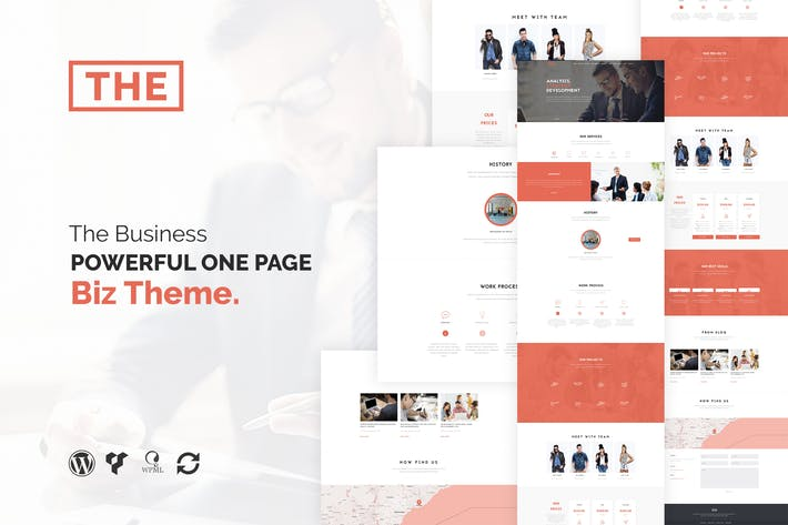 Cover Image For The Business - Powerful One Page Biz WP Theme