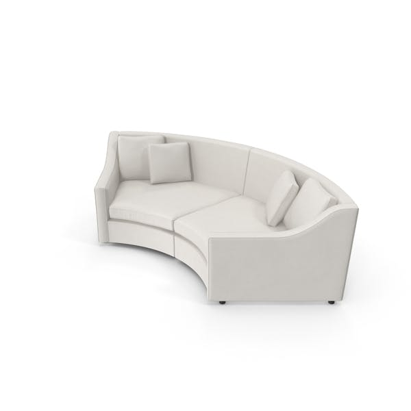 Cover Image for Transitional Corner Sofa