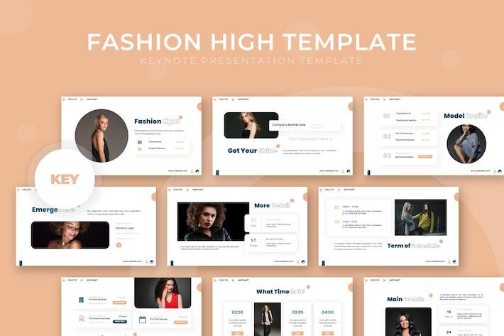 Fashion High - Keynote Template