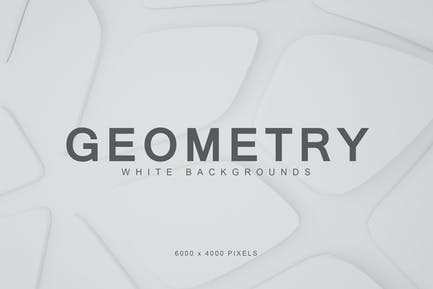 White Geometry Backgrounds 2