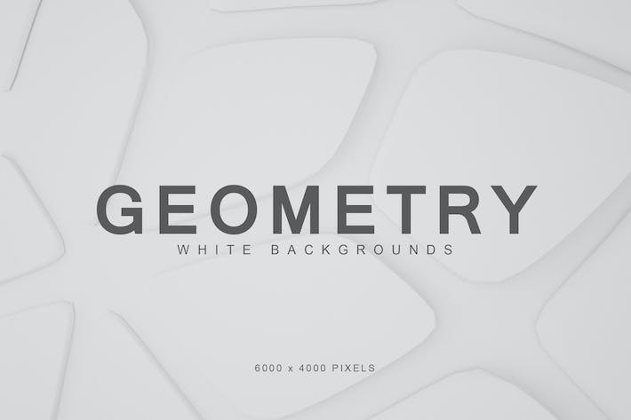 Thumbnail for White Geometry Backgrounds 2