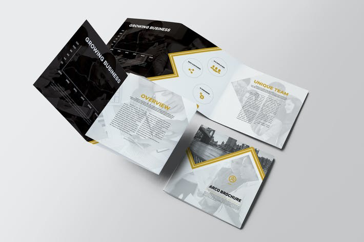 Thumbnail for Arco Square Trifold Brochure
