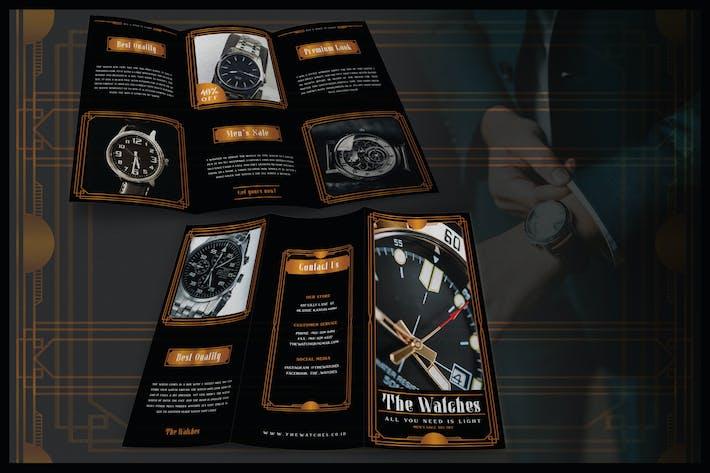 Thumbnail for Modern Artdeco Watch - Brochure