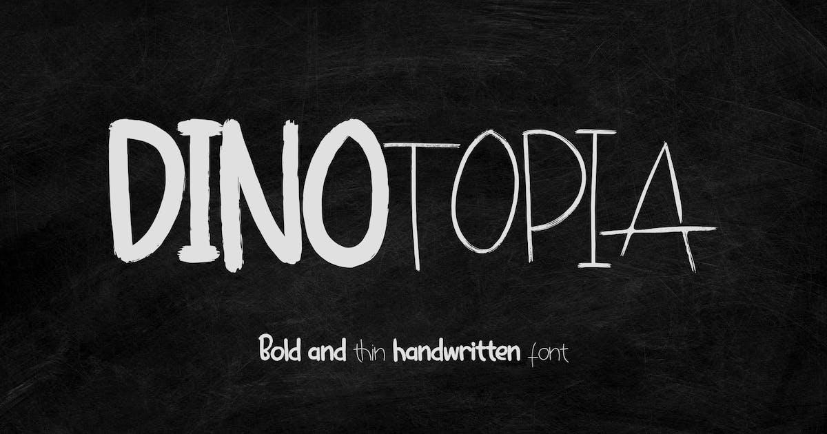 Download Dinotopia - Handwritten Font by deTheme