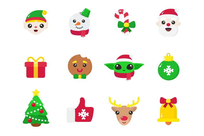 Thumbnail for Christmas & New Year - Icons