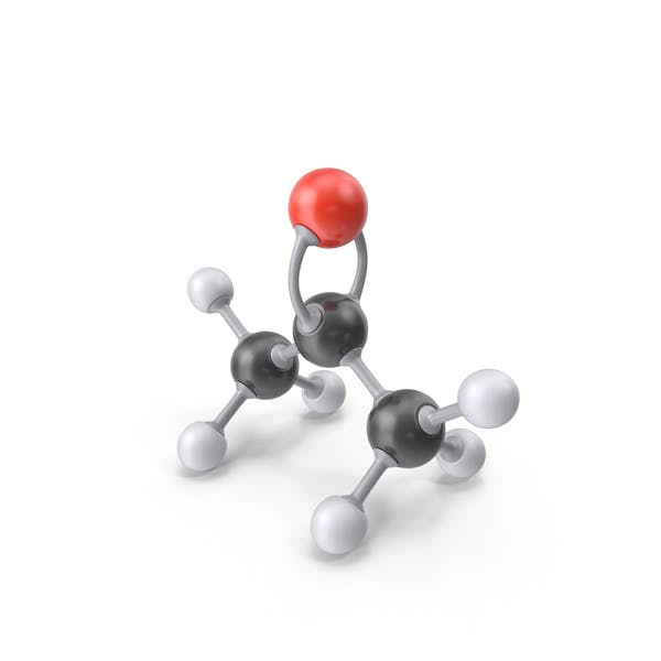 Cover Image for Acetone Molecule