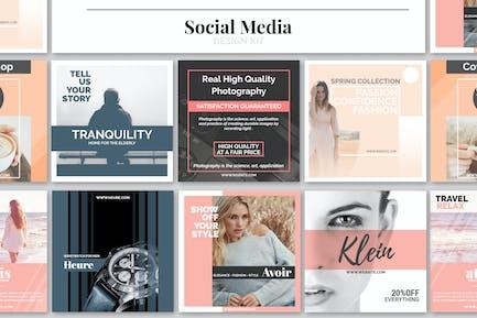 Kit de conception de médias sociaux