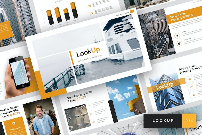 Cover Image For LookUp - CCTV Google Slides Template