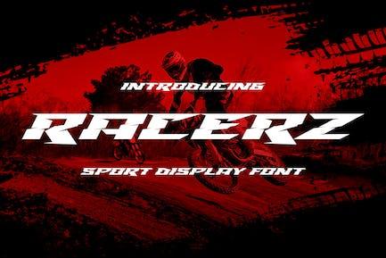 Racerz - Pantalla deportiva