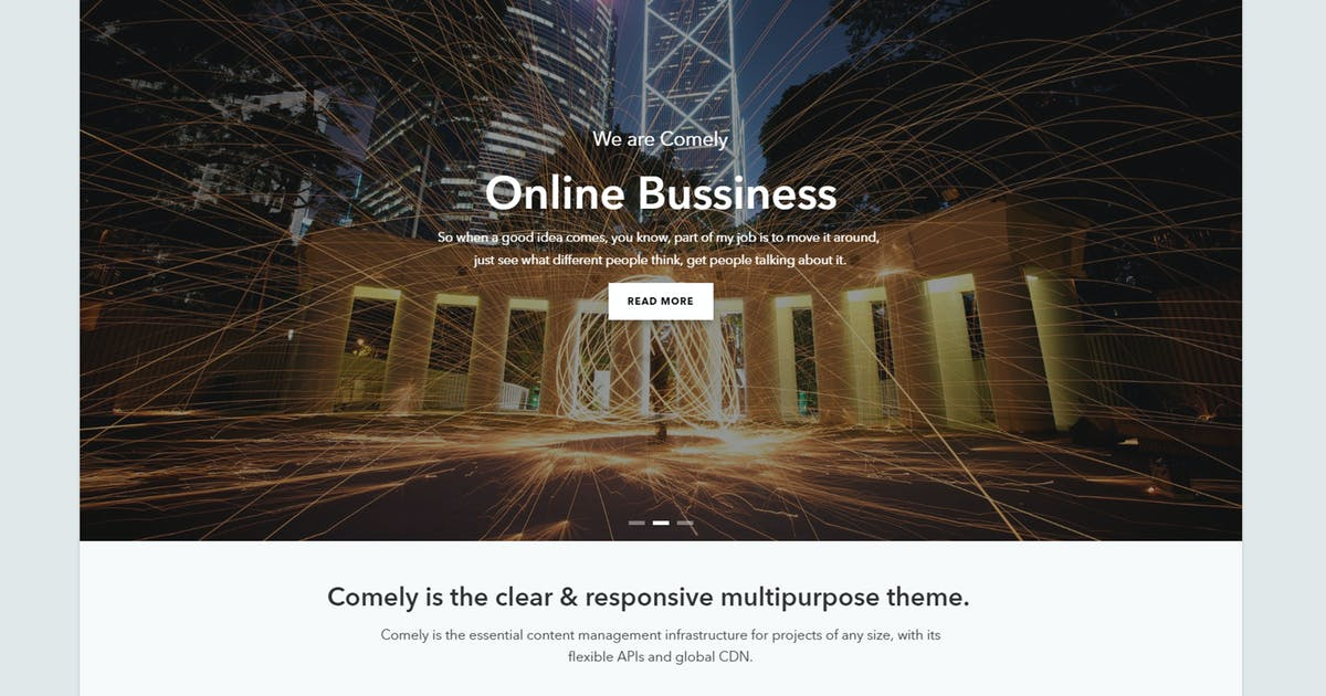 Download Comely - Responsive Business Drupal 8 Theme by gavias