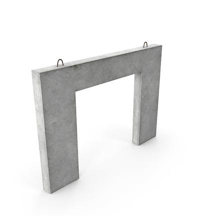 Vorgefertigte Betonplatte