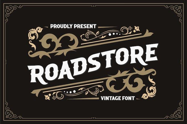 Thumbnail for ROADSTORE - Vintage Font
