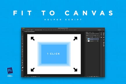 Fit to Canvas Script for Ps