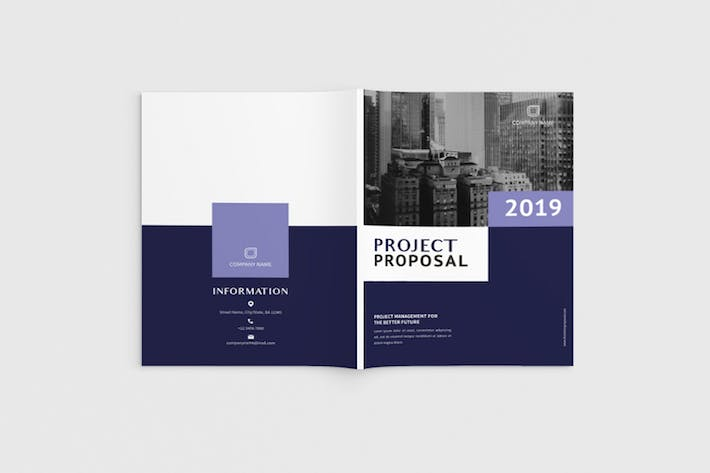 Thumbnail for Exposina - A4 Business Brochure Template