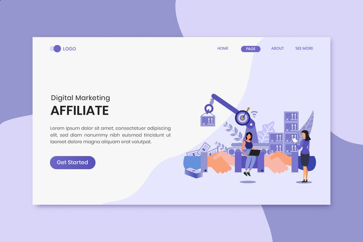 Thumbnail for Affiliate Marketing Landing Page