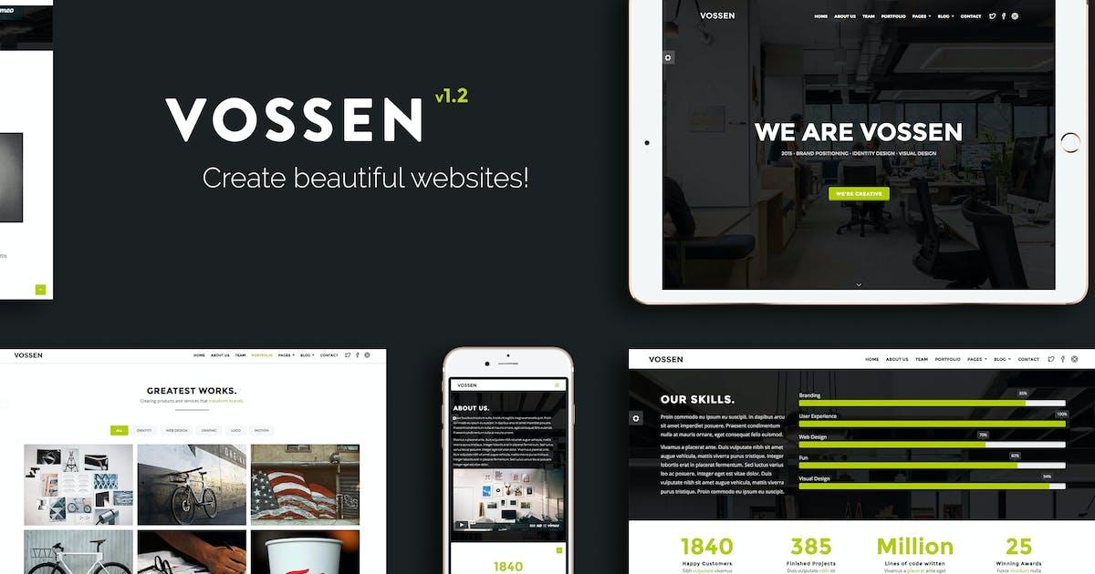 Download Vossen - Responsive Parallax Multipurpose Template by VossenDesign