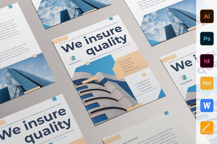 Thumbnail for Insurance Agency Flyer