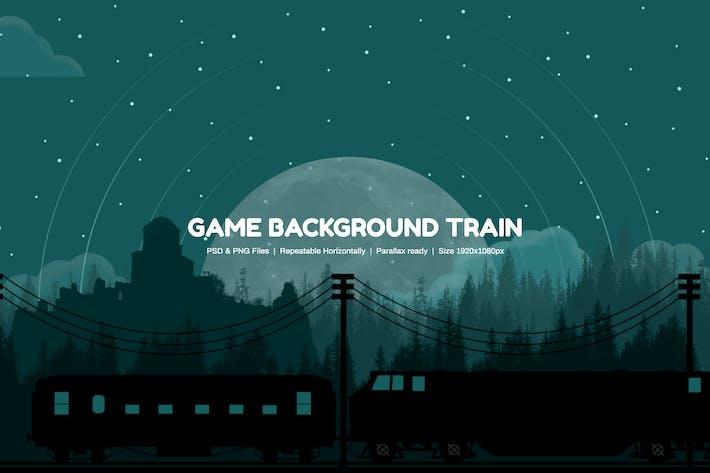 Game Background Train