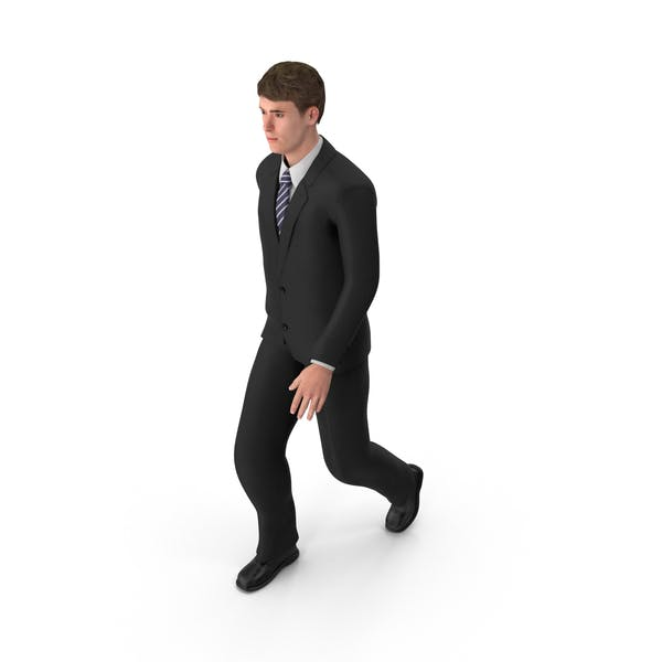 Businessman John Walking