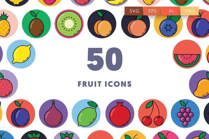 50 Frucht-Symbole