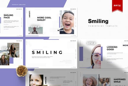 Smiling | Powerpoint Template