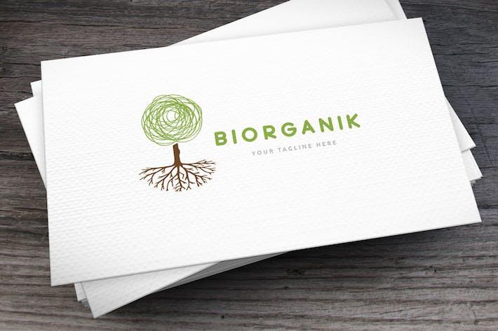 Biorganik Logo Template